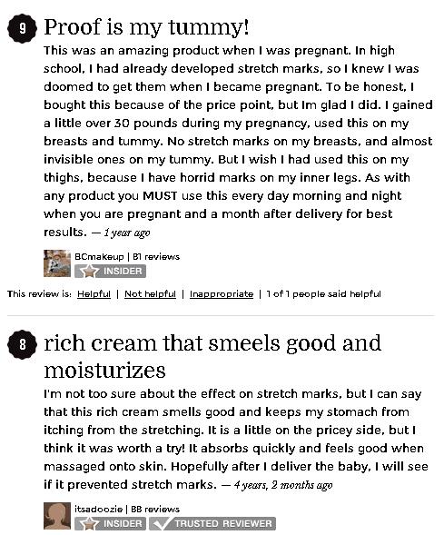 Mustela Stretch Mark Cream Reviews